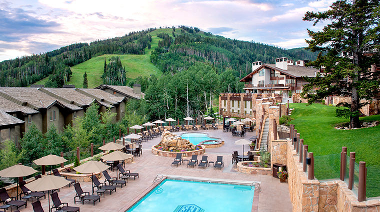 stein eriksen lodge deer valley pool