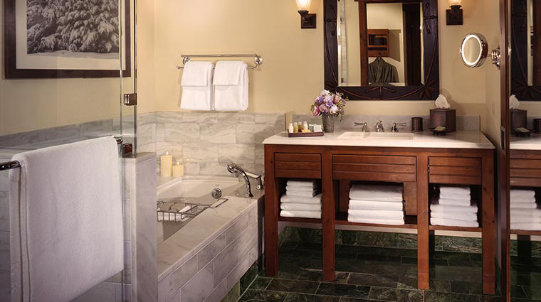 stowe mountain lodge bathroom
