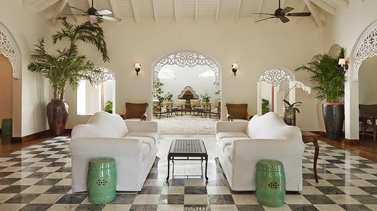 sugar beach a viceroy resort reception area