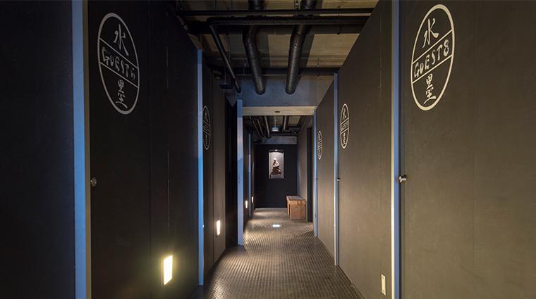suiboku hirafu hallway