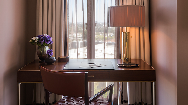 sunset tower hotel desk