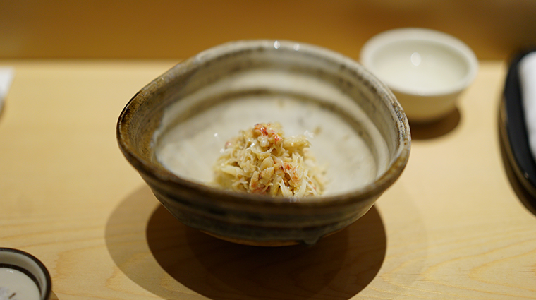 sushi saito crab meat