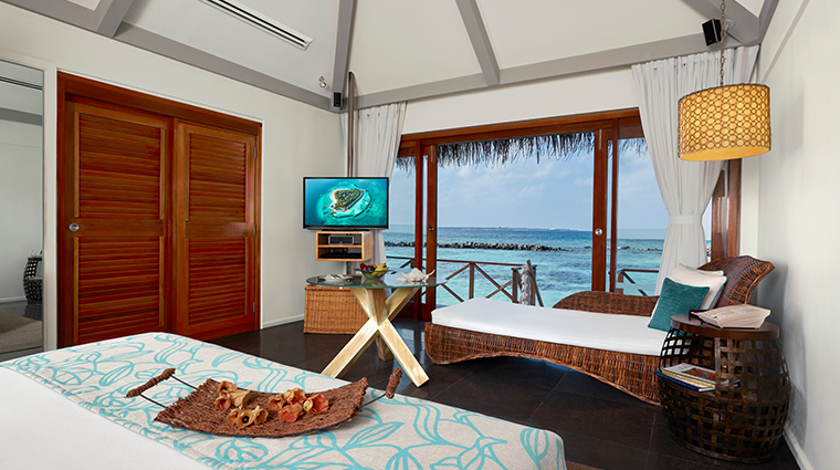 taj coral reef resort spa maldives premium water villa