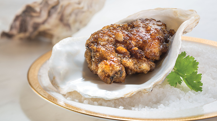 tang court hong kong baked oysters with port wine