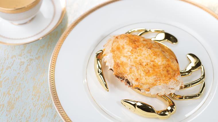 tang court hong kong crab shell