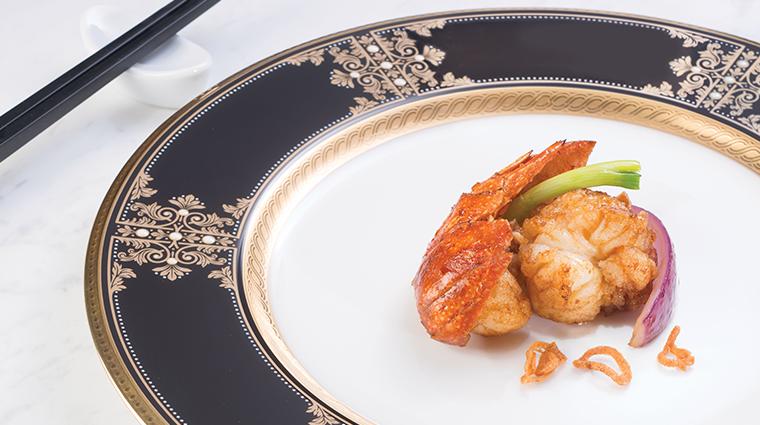 tang court hong kong stir fried lobster