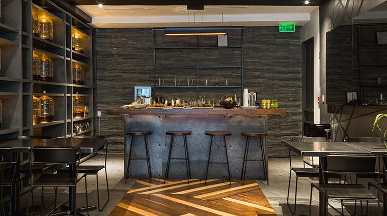 Templar Hotel counter