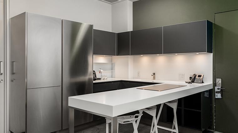 Templar Hotel kitchen