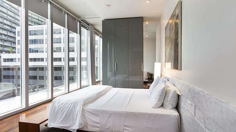 Templar Hotel loft bed view