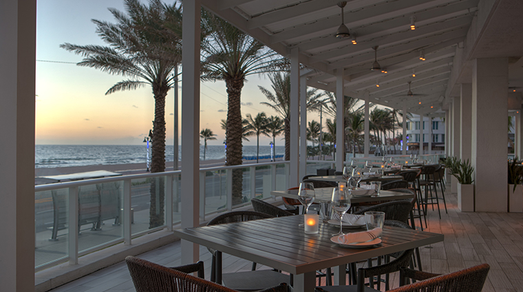 terra mare outdoor dining