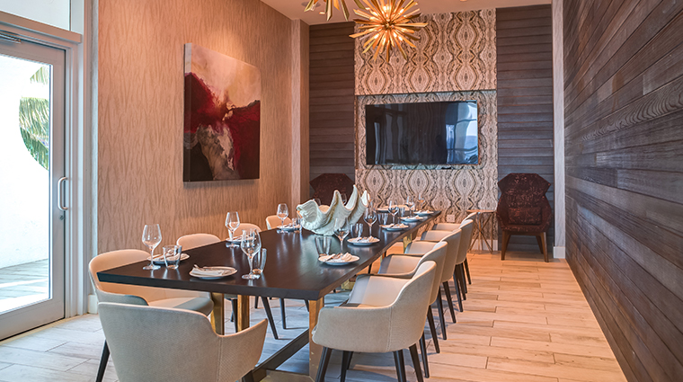 terra mare trident room private dining