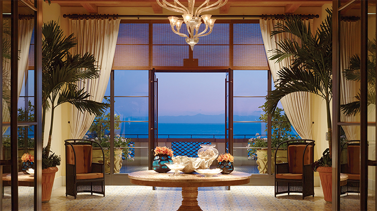 terranea resort lobby