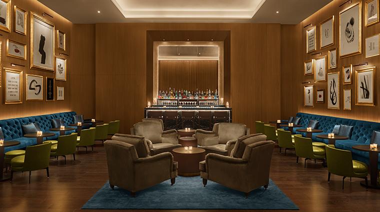 the abu dhabi edition library bar