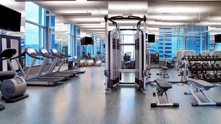 the adelaide hotel toronto fitness studio