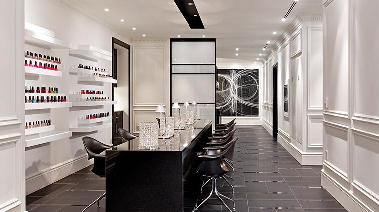 the adelaide hotel toronto manicure station