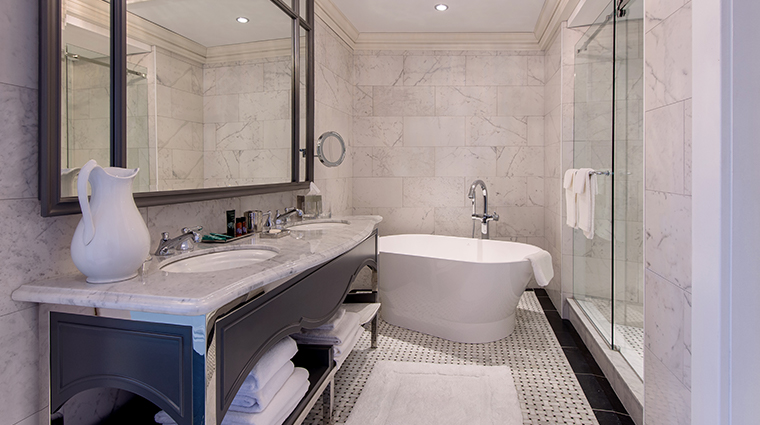 the adelphi hotel bathroom