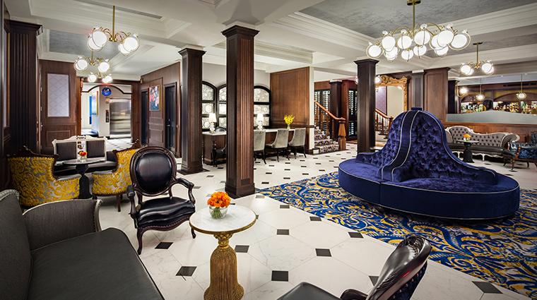 the adelphi hotel lobby