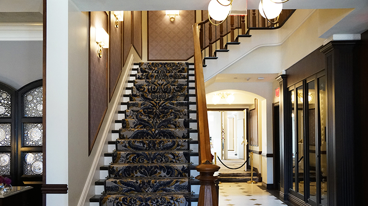 the adelphi hotel stairs