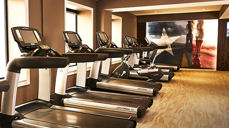 the adolphus hotel fitness center