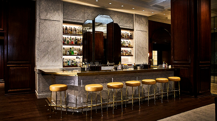 the adolphus hotel lobby bar