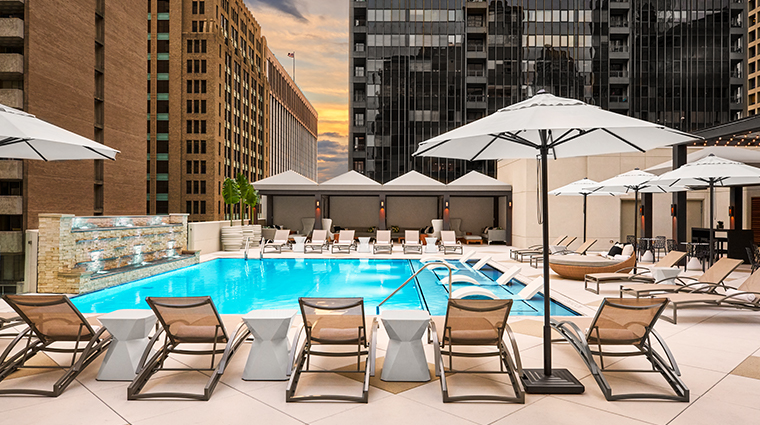 the adolphus hotel pool