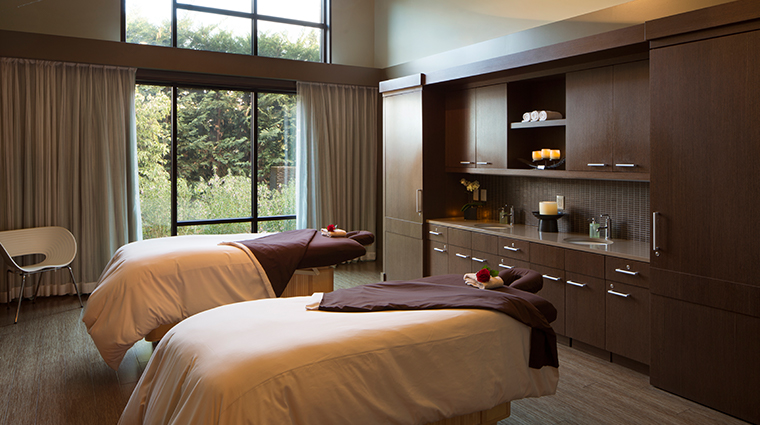 the allison spa couples massage room