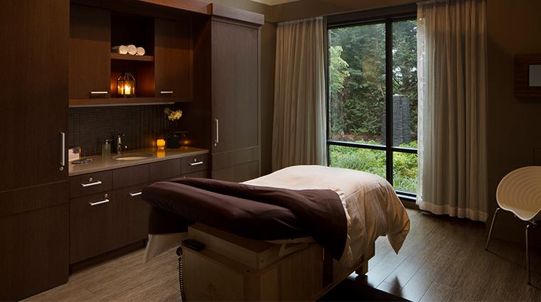 the allison spa treatment room