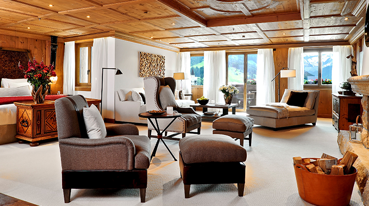 alpina gstaad grand luxe living area