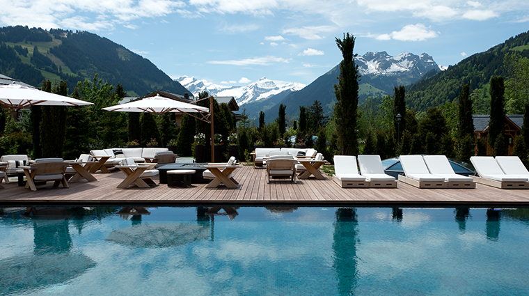 alpina gstaad outdoor pool
