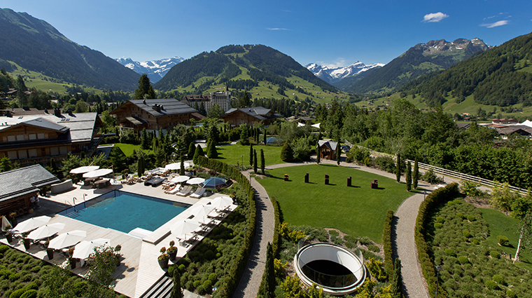 alpina gstaad the view