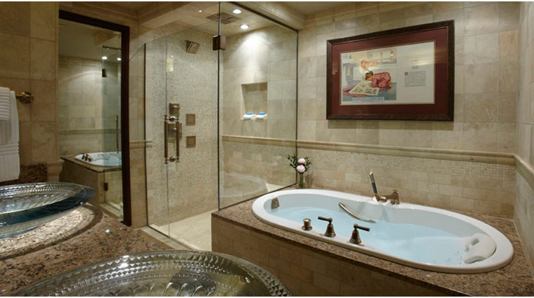 the american club bathroom