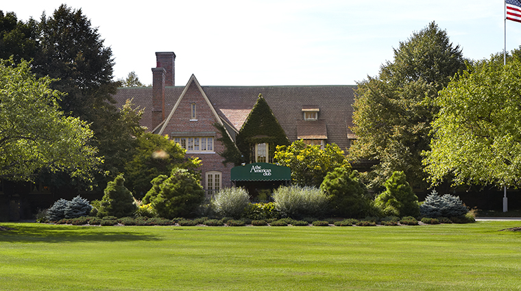 the american club exterior