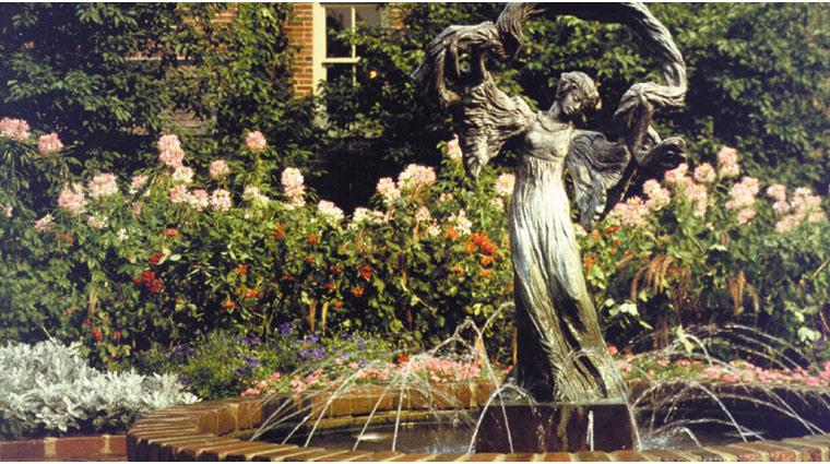 the american club fountain