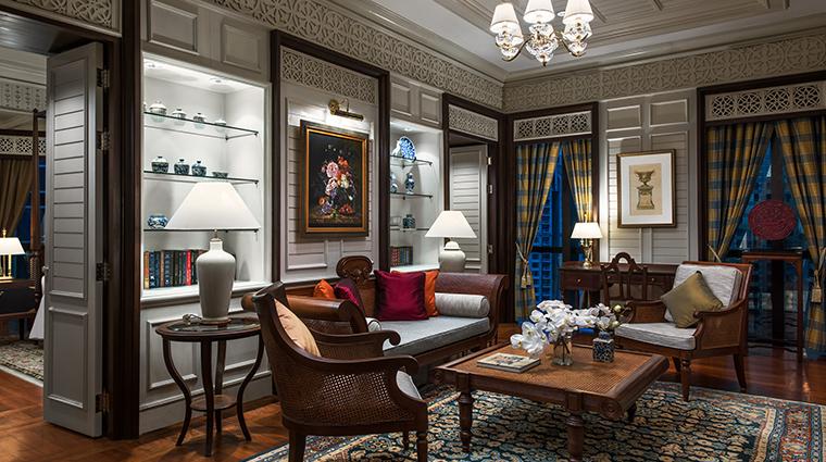 the athenee hotel bangkok Vimarn Siam Suite Livingroom