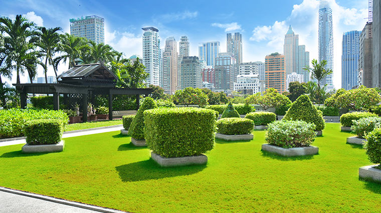 the athenee hotel bangkok garden view
