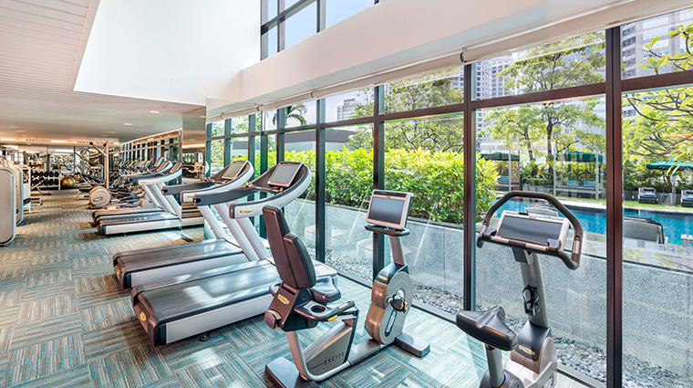 the athenee hotel bangkok gym