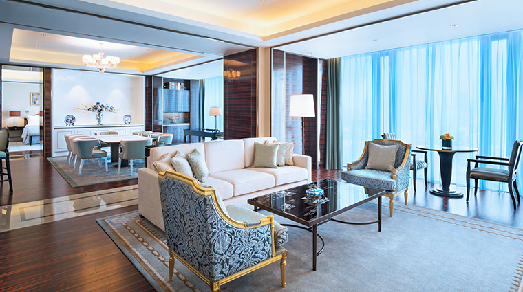 the azure qiantang a luxury collection hotel Collection Suite licing room