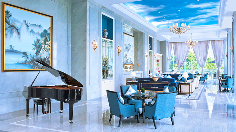 the azure qiantang a luxury collection hotel Lobby lounge
