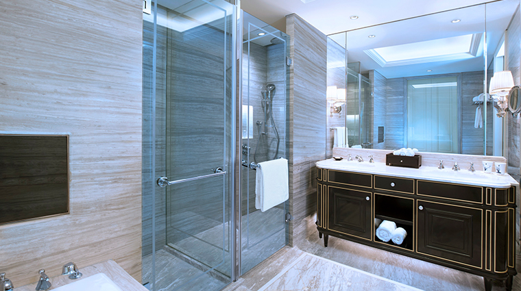 the azure qiantang a luxury collection hotel deluxe room bathroom