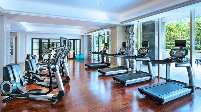 the azure qiantang a luxury collection hotel fitness center