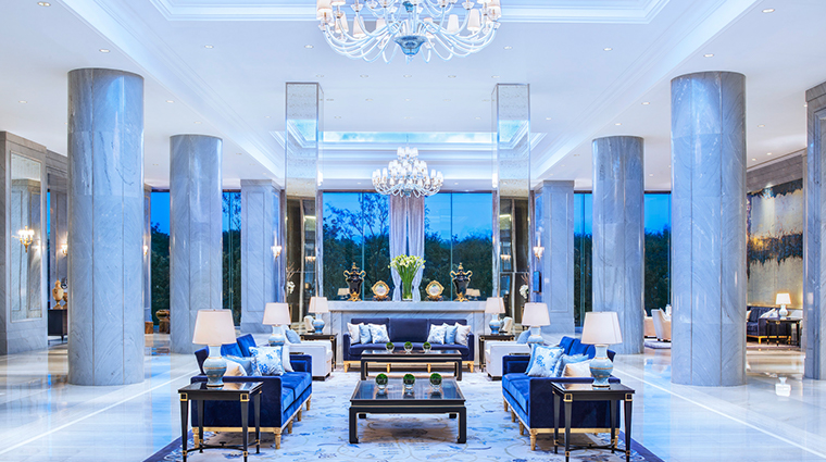 the azure qiantang a luxury collection hotel lobby