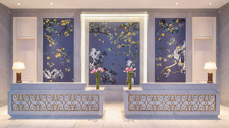 the azure qiantang a luxury collection hotel reception