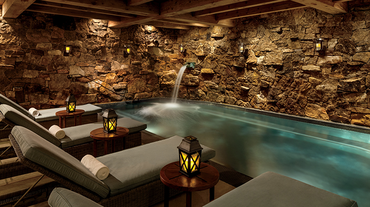 the bachelor gulch spa at the ritz carlton grotto
