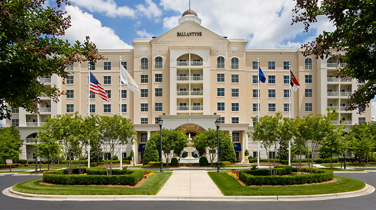 the ballantyne a luxury collection hotel entrance