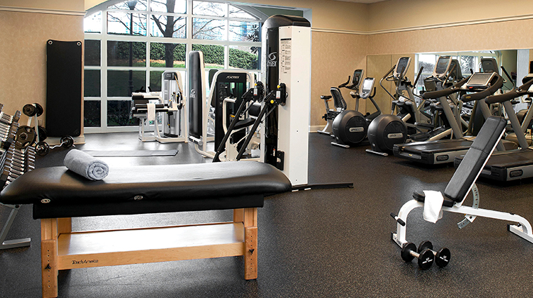 the ballantyne a luxury collection hotel fitness room