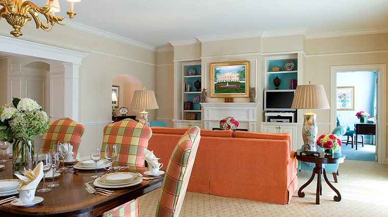 the ballantyne a luxury collection hotel presidential living room