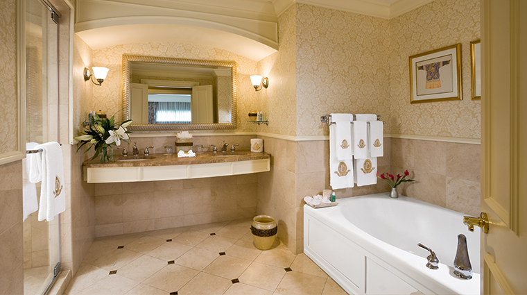 the ballantyne a luxury collection hotel presidential suite bathroom