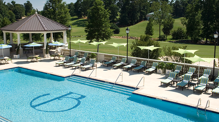the ballantyne a luxury collection hotel seasonal oudoor pool