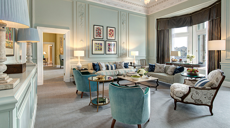 the balmoral a rocco forte hotel scone and crombie living room