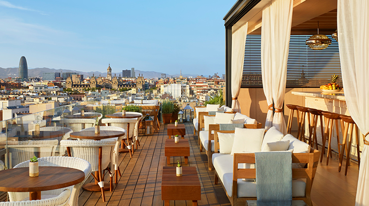 barcelona edition rooftop terrace